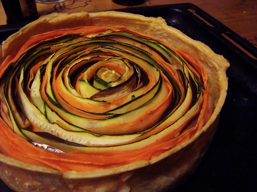 The Spiral Vegetable Pie