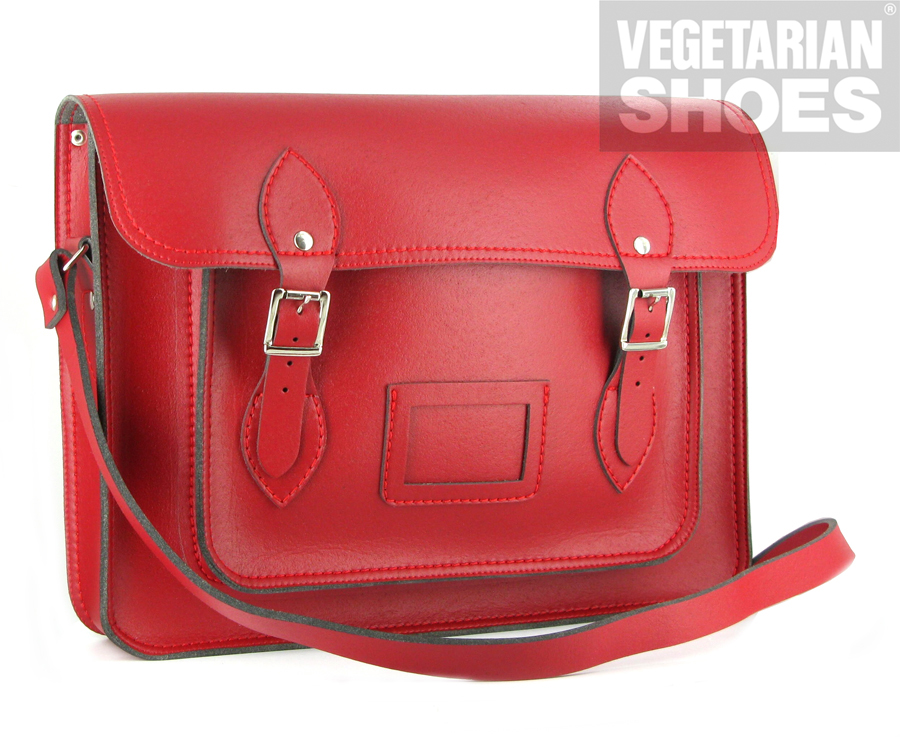 Vegetarian satchel bag review