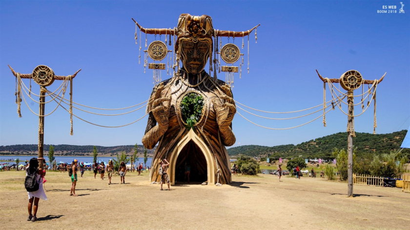 The Goddess at Boom Festival 2018